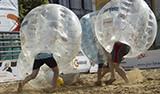 Fotbal v bublině