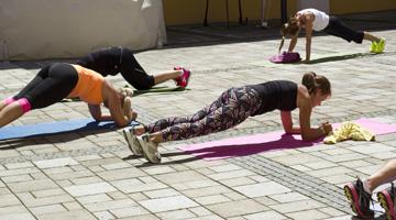 Fitness Day s Olgou Šípkovou a Janem Onderem