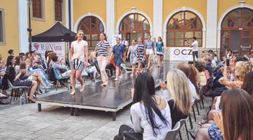 Doprovodný program: móda, folklor, talk show a Normální debil