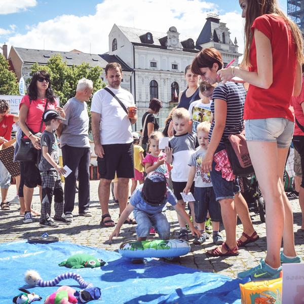 Dětský den se Sběrnými Surovinami UH