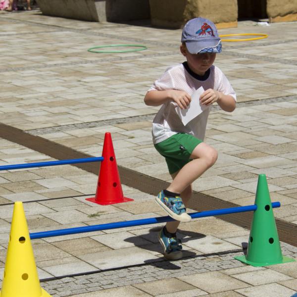 Decathlon zóna pro rodiny s dětmi