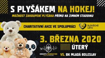 Plyšáci Slováckého léta a Rytíři Kladno společně podpoří IKEM a vězeňskou službu