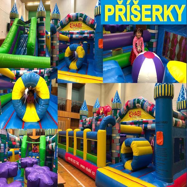 Skákací hrad Příšerky – Chabi Production