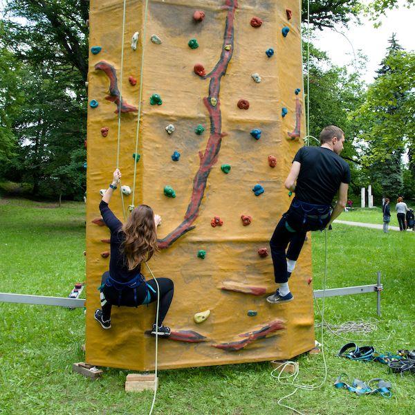 Lezecká stěna & Bodyzorbing